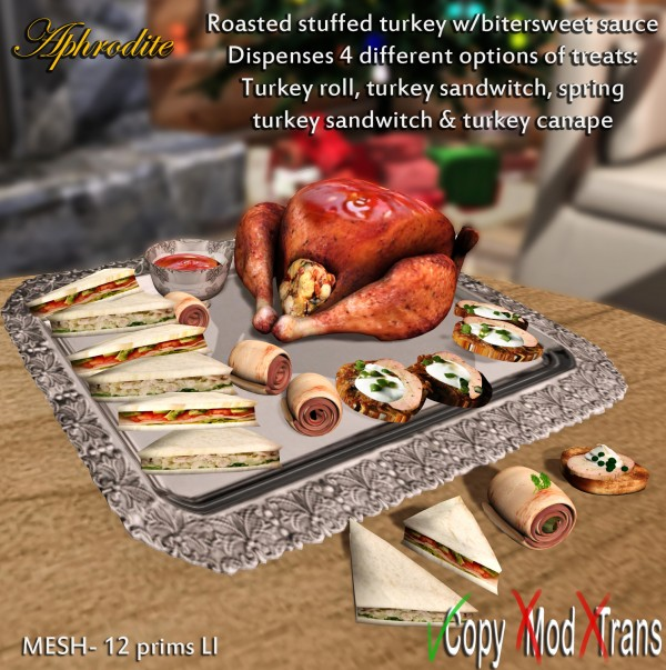 tray turkey buffet
