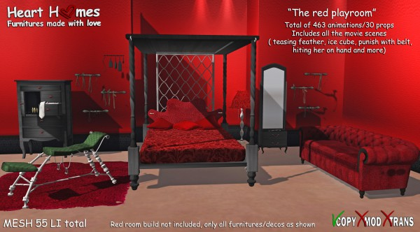 Red Room main advert