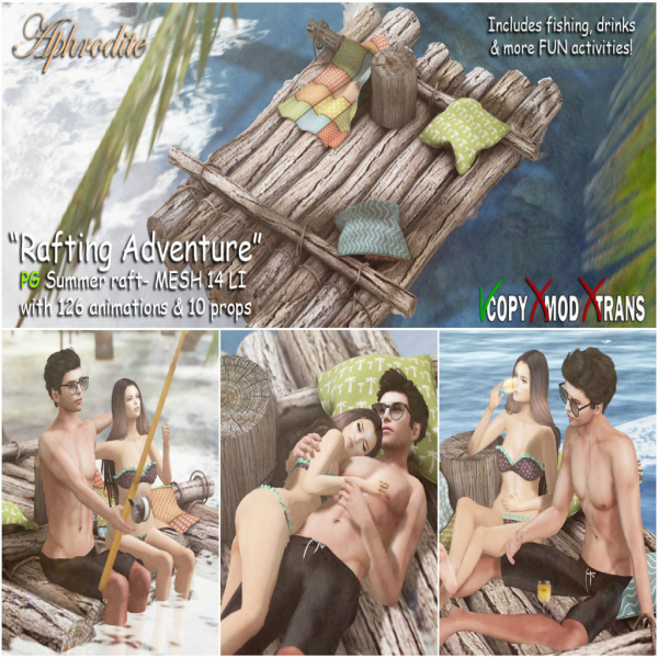 Aphrodite _Rafting adventure_ Summer raft - PG