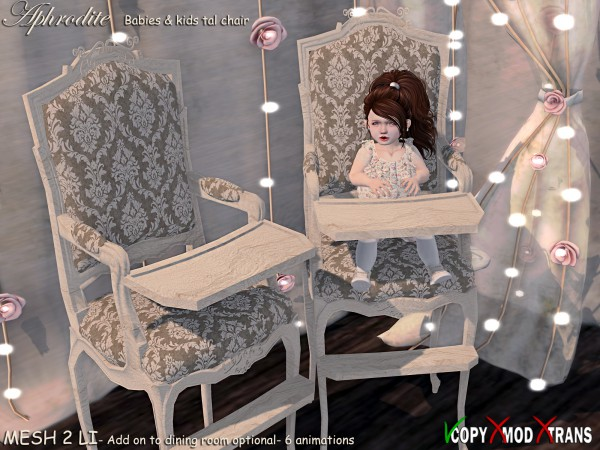 Aphrodite Vintage Dining -Baby & Kids Chair