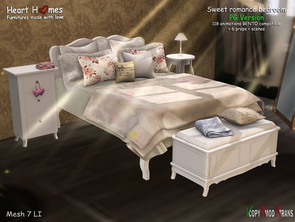 Heart Homes- Sweet romance bed PG Version